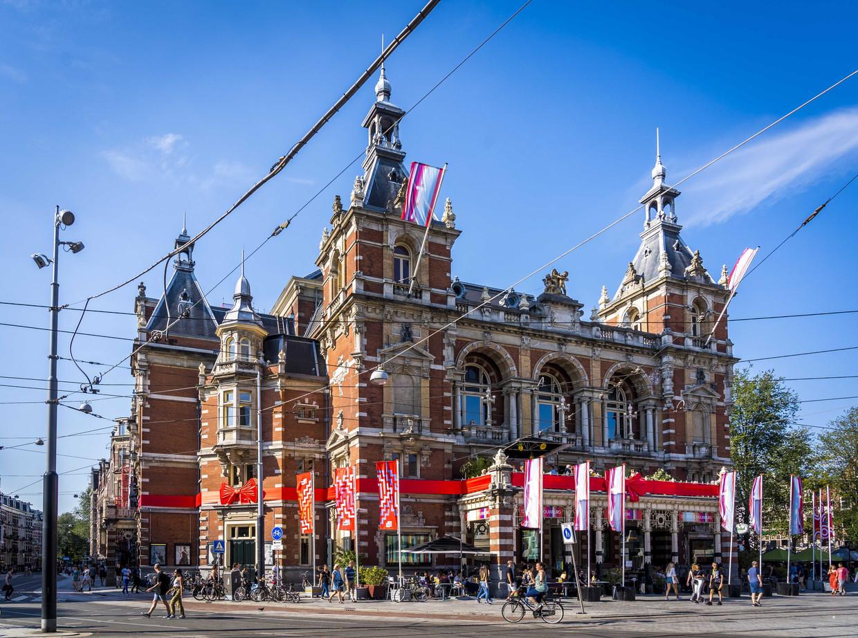Internationaal Theater Amsterdam, een van de festivallocaties. Beeld ANP
