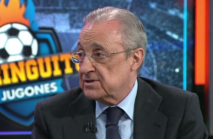 Real-voorzitter Florentino Pérez.