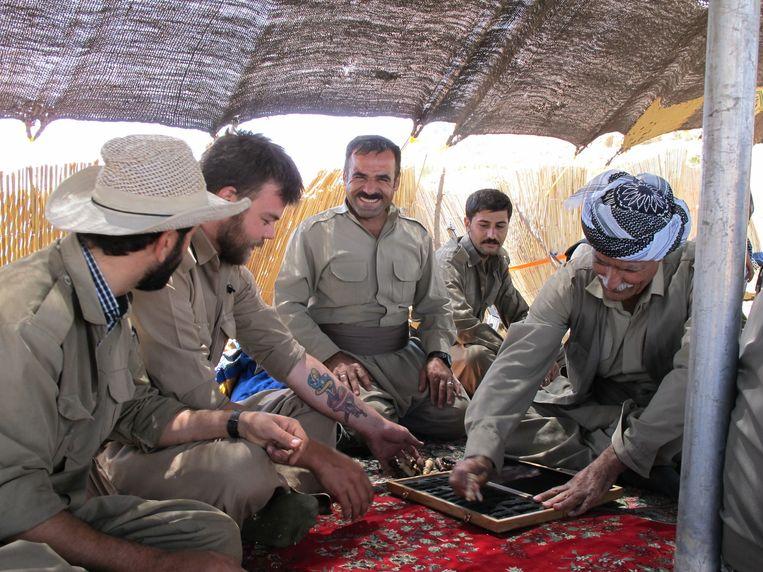 Iraans-Koerdische peshmerga's nu. Beeld Beri Shalmashi
