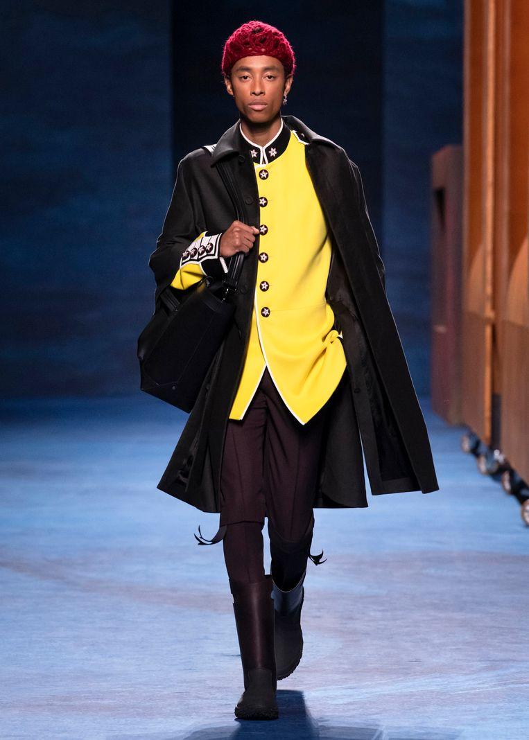 Dior Homme, herfst/winter 2021/2022. Beeld Imaxtree