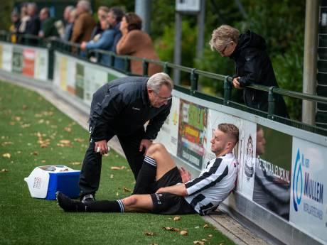 Operatie voor Arnhemse voetballer met meerdere polsbreuken:  'Zes weken herstellen'