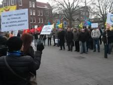 Demonstratie tegen rector Islamitische Universiteit