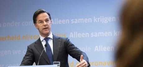 Rutte respecteert afgelasten 538-feest: 'Het dreigde met zo veel demonstraties een soort Sinterklaasintocht te worden'