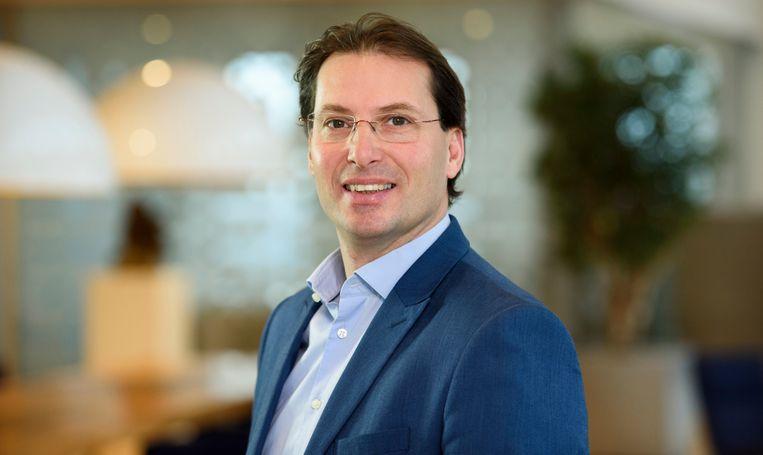 Marc van der Linden CEO Stedin. Beeld Sicco van Grieken