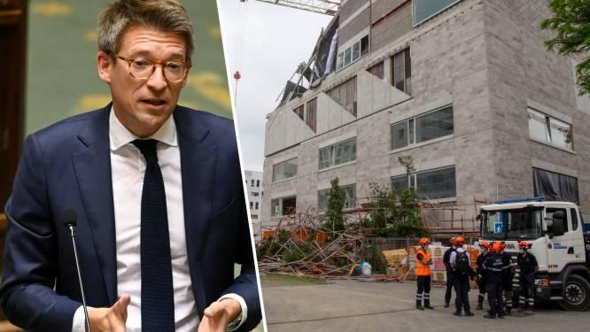 """Problemen in bouwsector worden nog voor bouwverlof in kaart gebracht: """"Vijf arbeiders mogen niet tevergeefs gestorven zijn"""""""