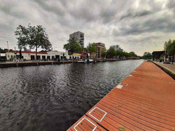 Vrijdagmorgen is de Piushaven leeggemaakt omdat de brug komende weken niet open kan.