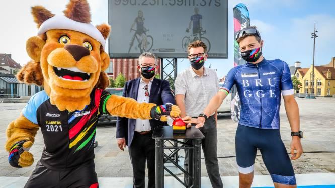 Nog 100 dagen...en Brugge ontvangt Evenepoel, Van Aert en co. voor wereldkampioenschap tijdrijden