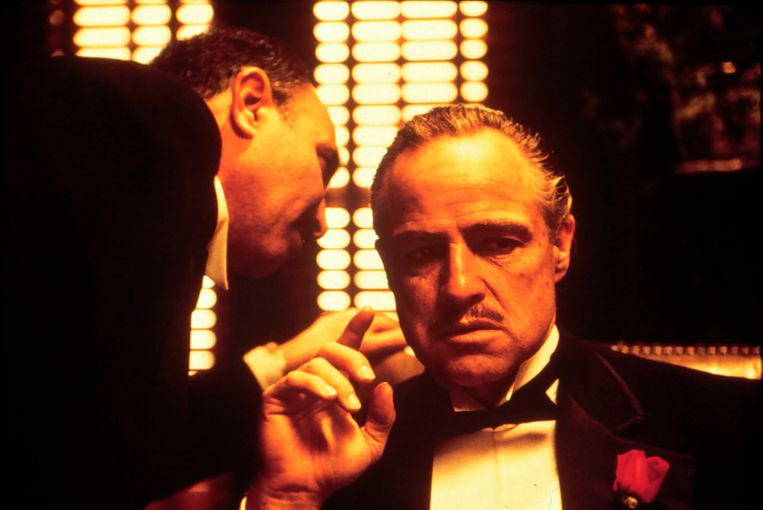 Een beeld uit het eerste deel van de Godfather-trilogie van Francis Ford Coppola. Beeld ANP Kippa