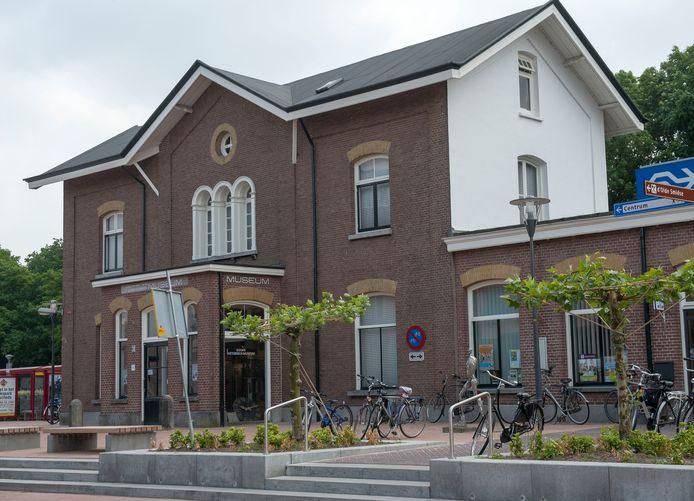 Het voormalig station van Goor is het domein van het Goors Historisch Museum