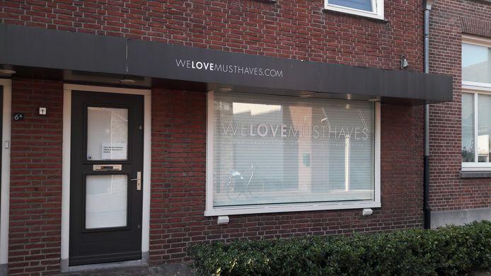 De fysieke winkel van We Love Musthaves die onlangs sloot.