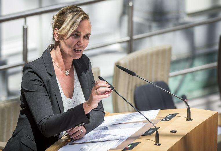 De Vlaamse minister van Gelijke Kansen Liesbeth Homans. Beeld belga