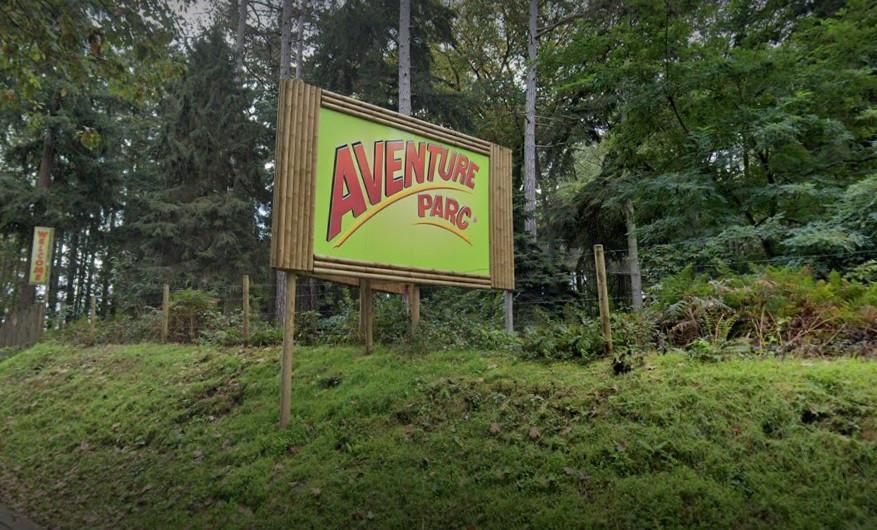 Le parc d'aventures de Wavre.