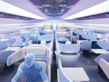 Voici à quoi pourrait ressembler l'intérieur de l'avion du futur