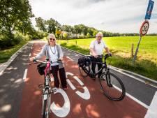 Extra maatregelen als het spaak loopt op nieuwe fietsstraat in Losser