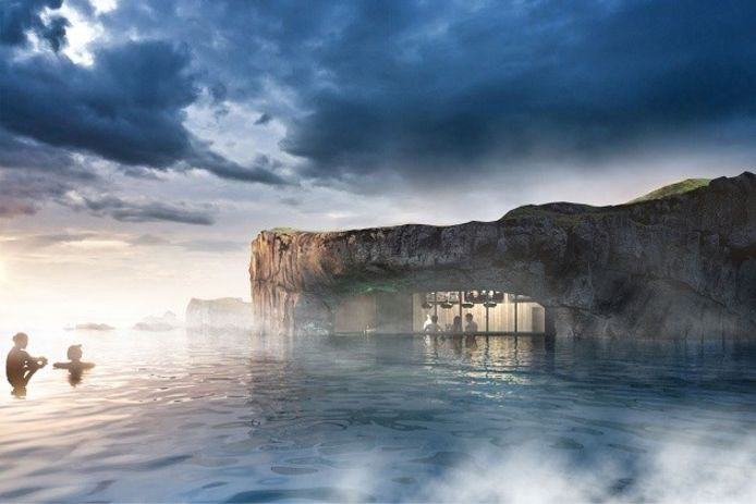Sky Lagoon, en Islande.