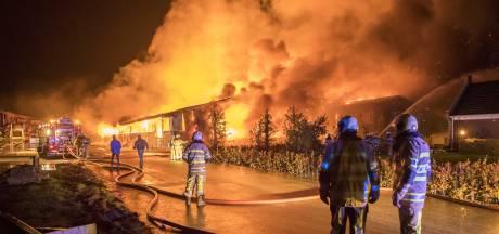 Opnieuw brand in boerderij Werkhoven