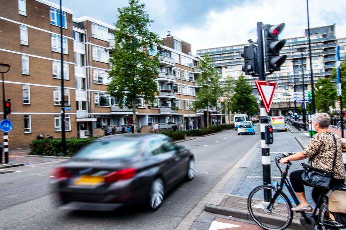 """,,Wat steeds over het hoofd wordt gezien, is dat een deel van het doorgaand verkeer op de cityring voor ons juist bestemmingsverkeer is"""", stelt Peerke Hessels."""
