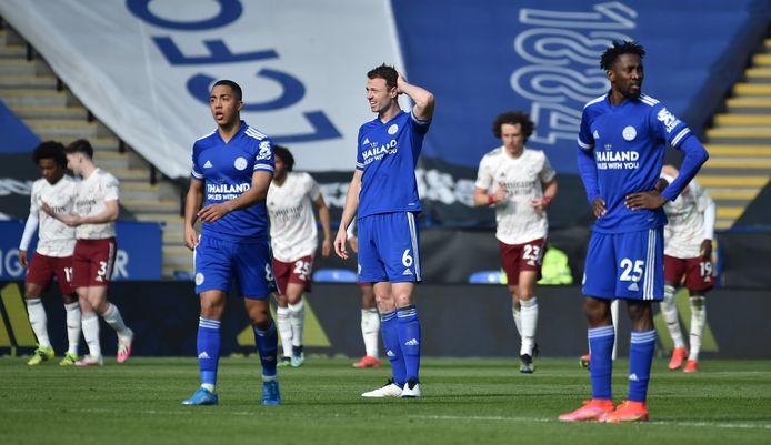 Youri Tielemans avit pourtant lancé Leicester City en ouvrant le score après six minutes de jeu, mais les Foxes ont ensuite perdu le fil du match contre Arsenal.