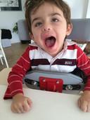 Jasper heeft als bijna enige de zeer zeldzame stofwisselingsziekte Infantiele Neuroaxonale Dystrofie (INAD), ofwel de ziekte van Seitelberger.