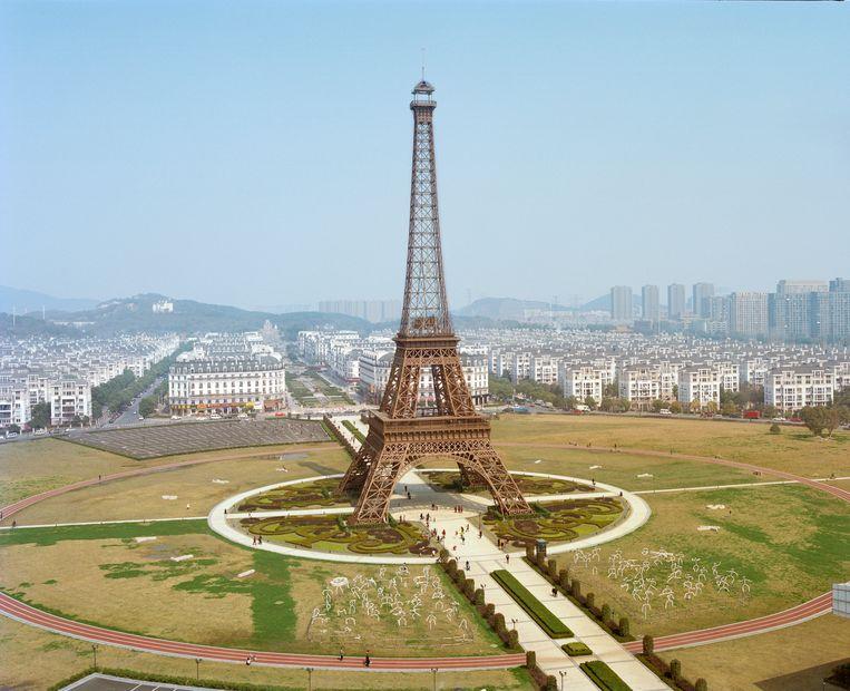 De Eiffeltoren (origineel in Parijs) Beeld PAULINE NIKS