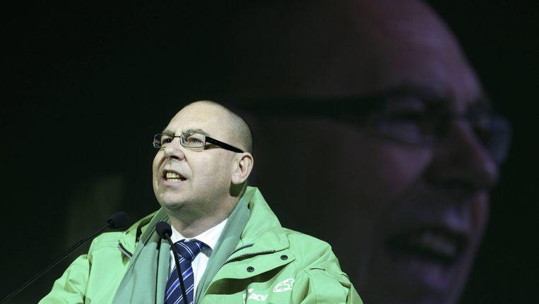 Marc Leemans, topman van het ACV. Beeld BELGA