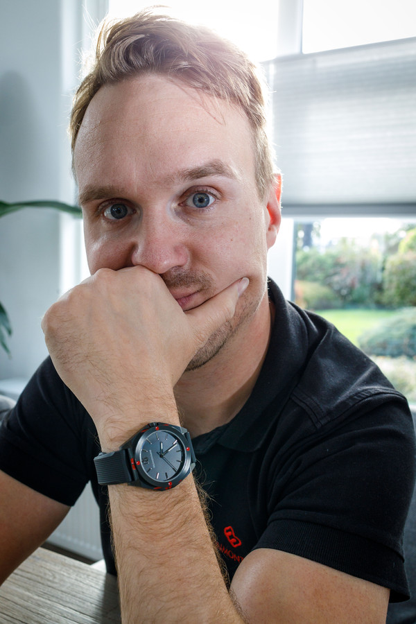Pascal Bruinenberg ontwierp zijn eigen horloge en dat werd een succes.
