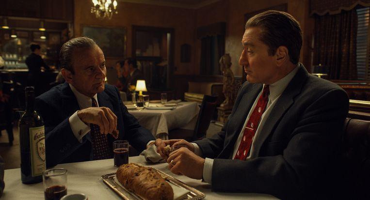 Joe Pesci en Robert De Niro in The Irishman. Beeld