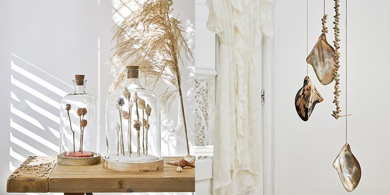Haal de zomer in huis: maak deze schelpenstolp of hangers zelf