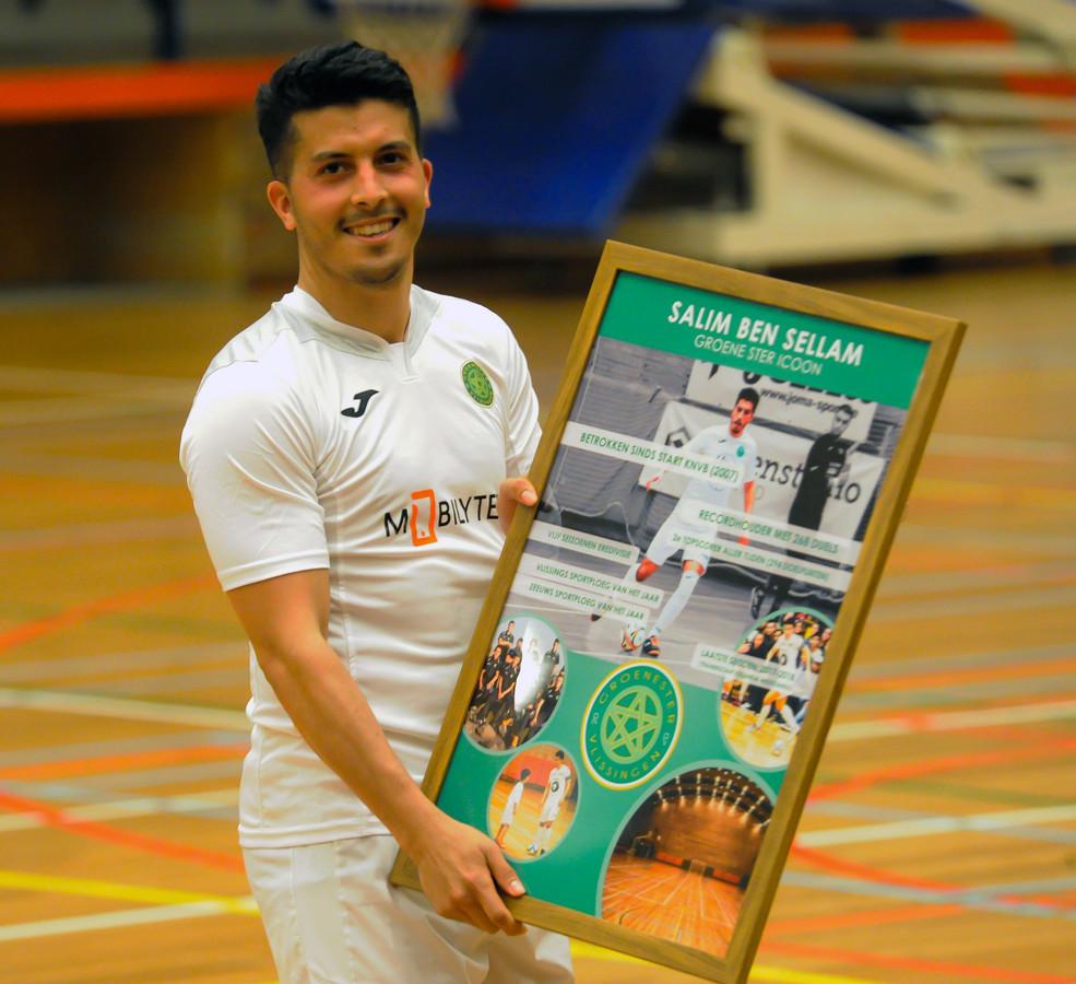 Salim Ben Sellam werd na het einde van vorig seizoen uitgezwaaid door Groene Ster.