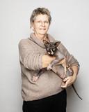 Mirjam van Rooij (56) uit Wanneperveen.
