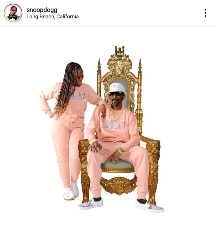 Snoop Dogg met de 'sloefkes' van Jadran Beauprez uit De Klinge.