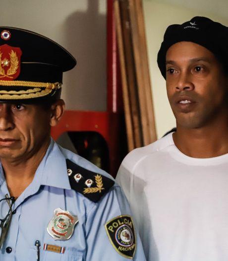 La détention préventive de Ronaldinho confirmée