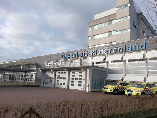 De teststraat van de GGD Rivierenland is verhuisd van de Kersenbogerd in Tiel naar Ziekenhuis Rivierenland.