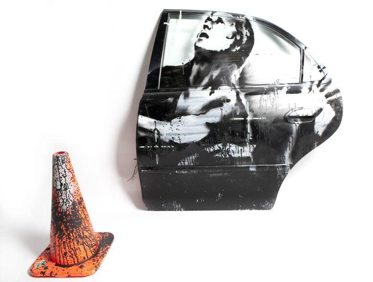 'Crazy Horse Car Door': nog niet verkocht. Beeld AP