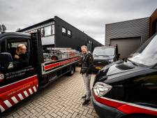 Rick kan niet zonder auto in Arnhem: 'Bedrijven zoals wij zullen toch door de stad moeten'