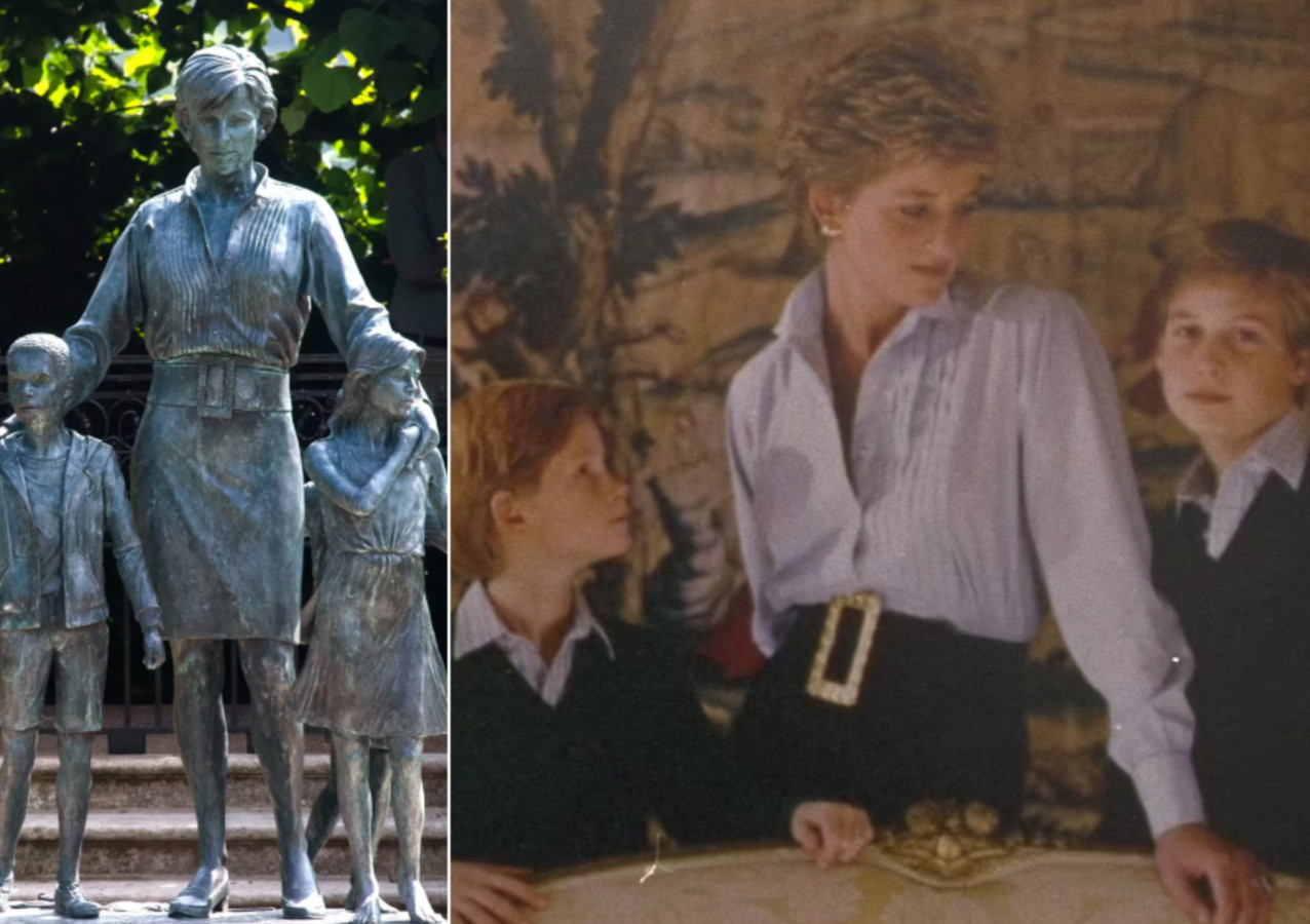 Is dit het kaartje waarop het Diana-standbeeld gebaseerd werd?