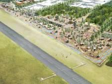 Schot in plan woningen op de vliegbasis Soesterberg