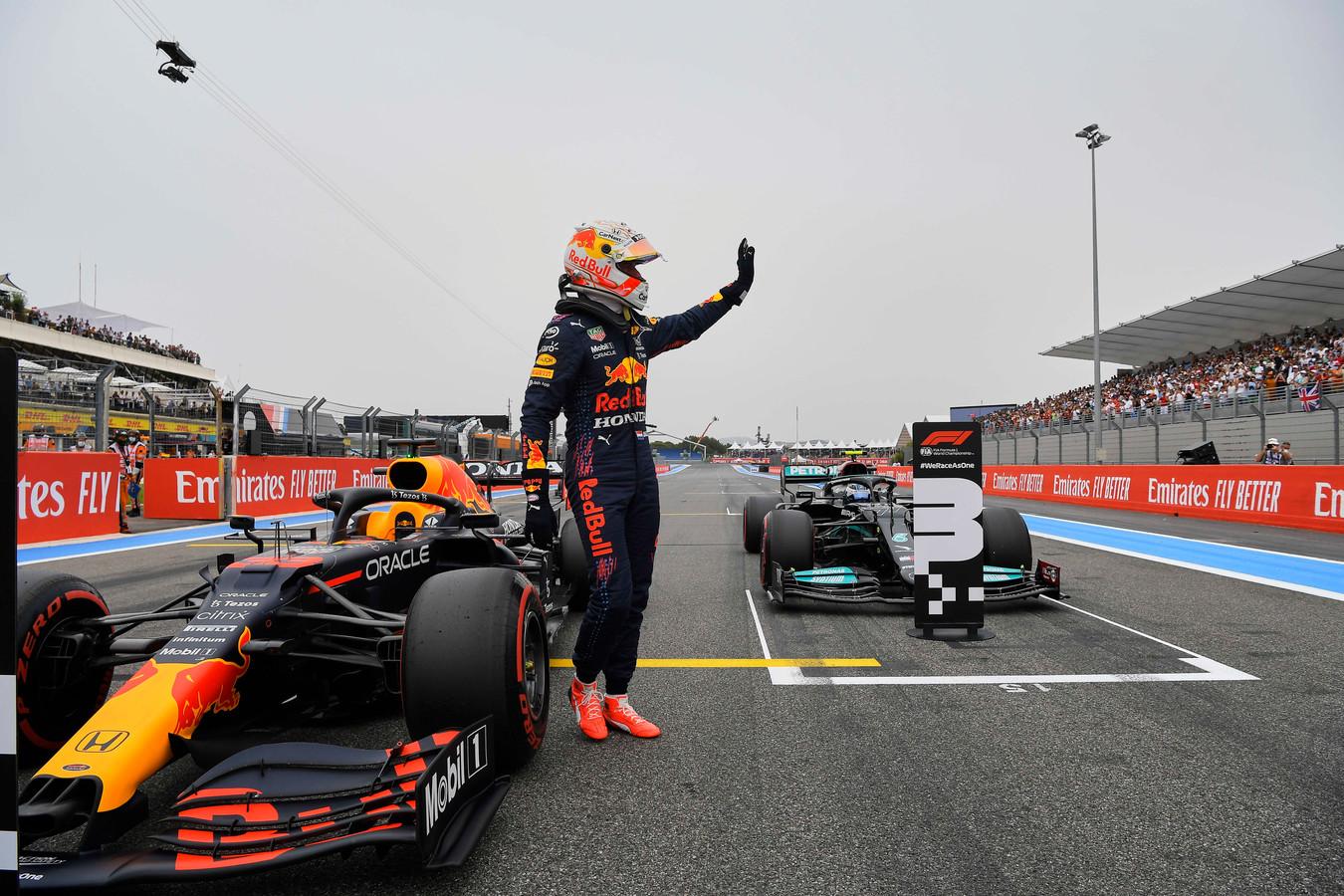 Cinquième pole en carrière pour Max Vertsappen.