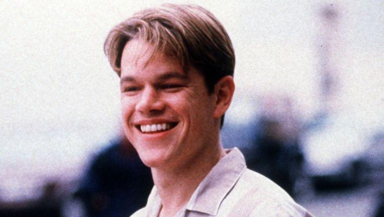 Matt Damon in Good Will Hunting, vanavond te zien Beeld afp