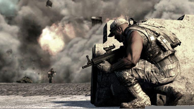 Een licht explosieve sfeer in de soldatensimulator SOCOM: Special Forces. (Beeld Zipper Interactive) Beeld