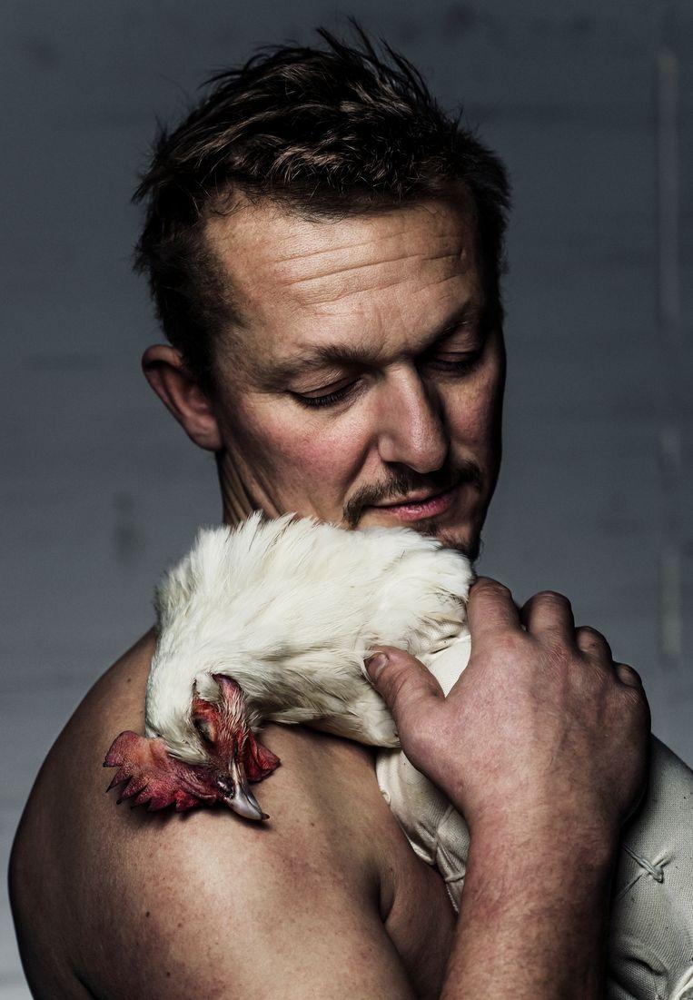 Hendrik Dierendonck. 'Ieder stukje vlees moet gerespecteerd worden.' Beeld Karoly Effenberger