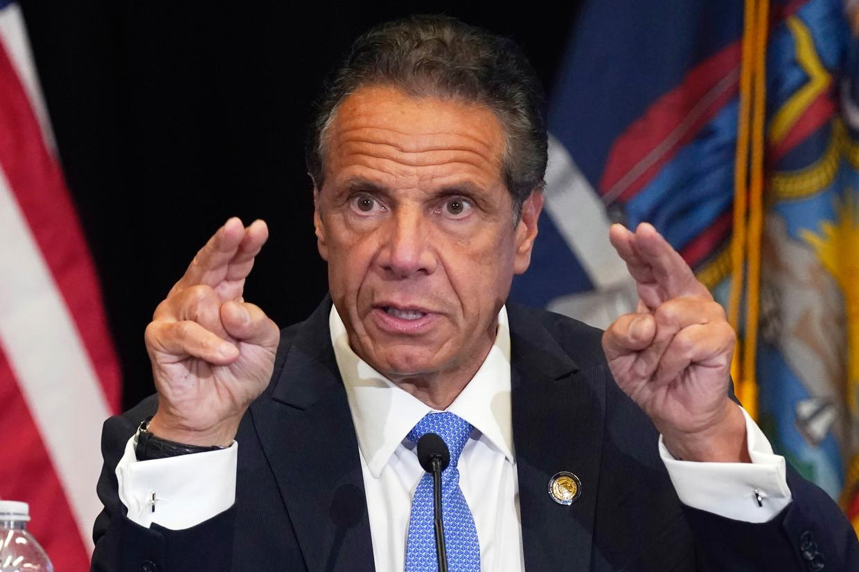 De reputatie van Andrew Cuomo, de gouverneur van New York, is ernstig aangetast nu uit officieel onderzoek is gebleken dat hij zich schuldig heeft gemaakt aan ongewenste intimiteiten. Beeld AP