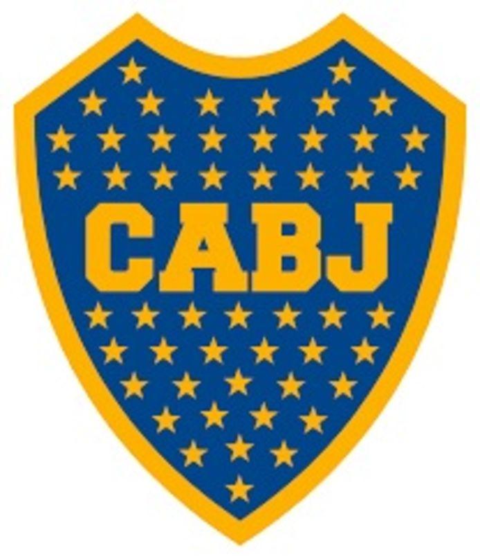 Logo van voetbalvereniging Boca Juniors.