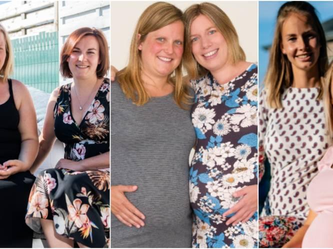"""Deze vriendinnen zijn net als Natalia en Nathalie Meskens samen zwanger: """"We wisten het van elkaar vanaf de eerste seconde"""""""