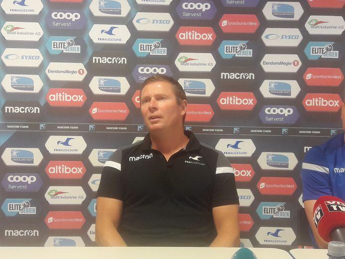 Jostein Grindhaug, coach van FK Haugesund