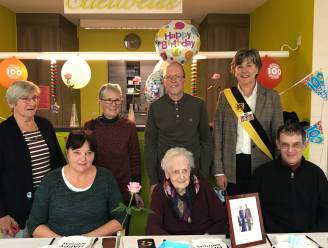 Gewond geraakt tijdens WO II, deze week 100 jaar geworden: WZC zet Rosa in de bloemetjes