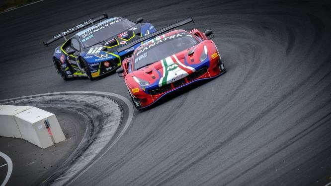 Hasselaars op het podium in Europese GT-wedstrijden, zowel Vanthoor als Machiels blijven op titeljacht