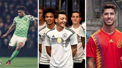 OVERZICHT: Voetbalfans overal ter wereld wild van nieuw shirt Nigeria (maar welke is uw favoriet?)