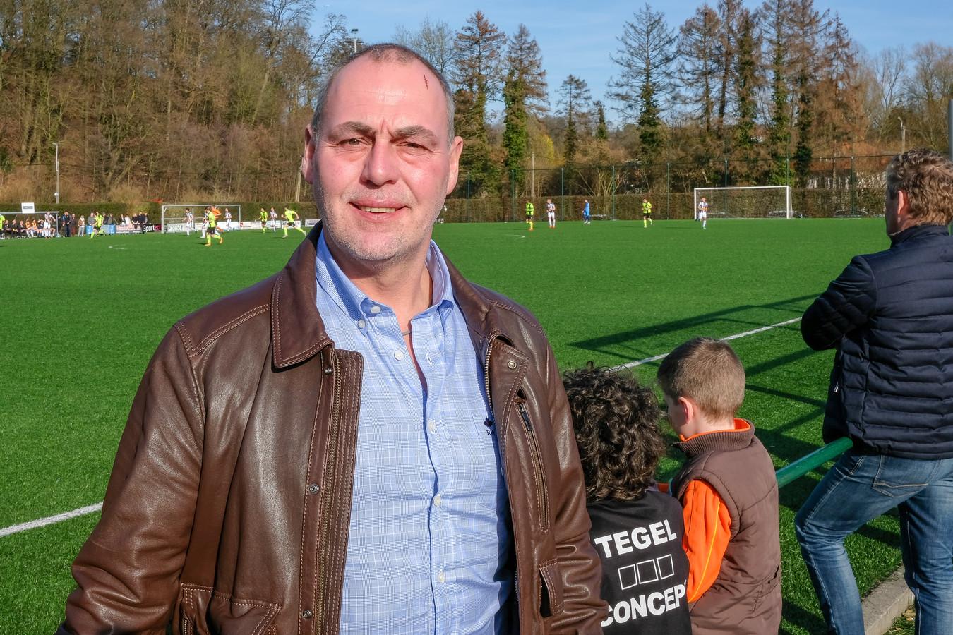 Voorzitter ERC Hoeilaart Gino Vandervoort.