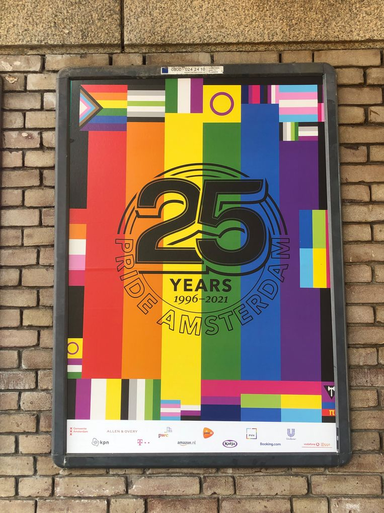 Pride Amsterdam.   Beeld